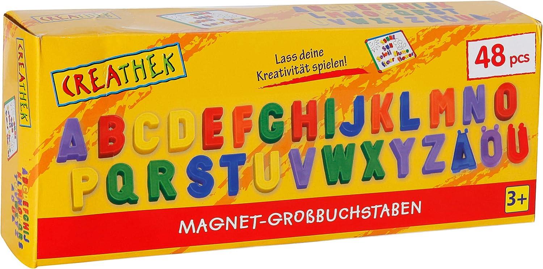 Toy Company 12972 - Letras magnéticas Grandes (48 Piezas ...