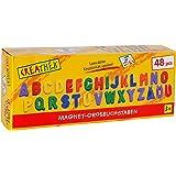 Toy Company 12972 - Letras magnéticas grandes (48 piezas) [importado de Alemania]