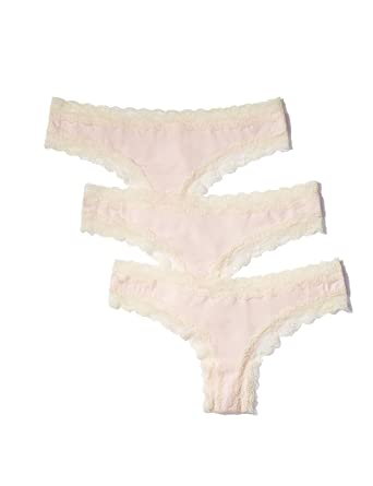 020ffdba2a Iris   Lilly Women s Thong with Contrast Lace Trim