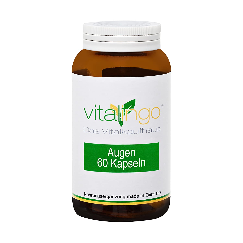 Cápsulas oculares - 60 cápsulas con aceite de luteína y aceite de zeaxantina: Amazon.es: Salud y cuidado personal