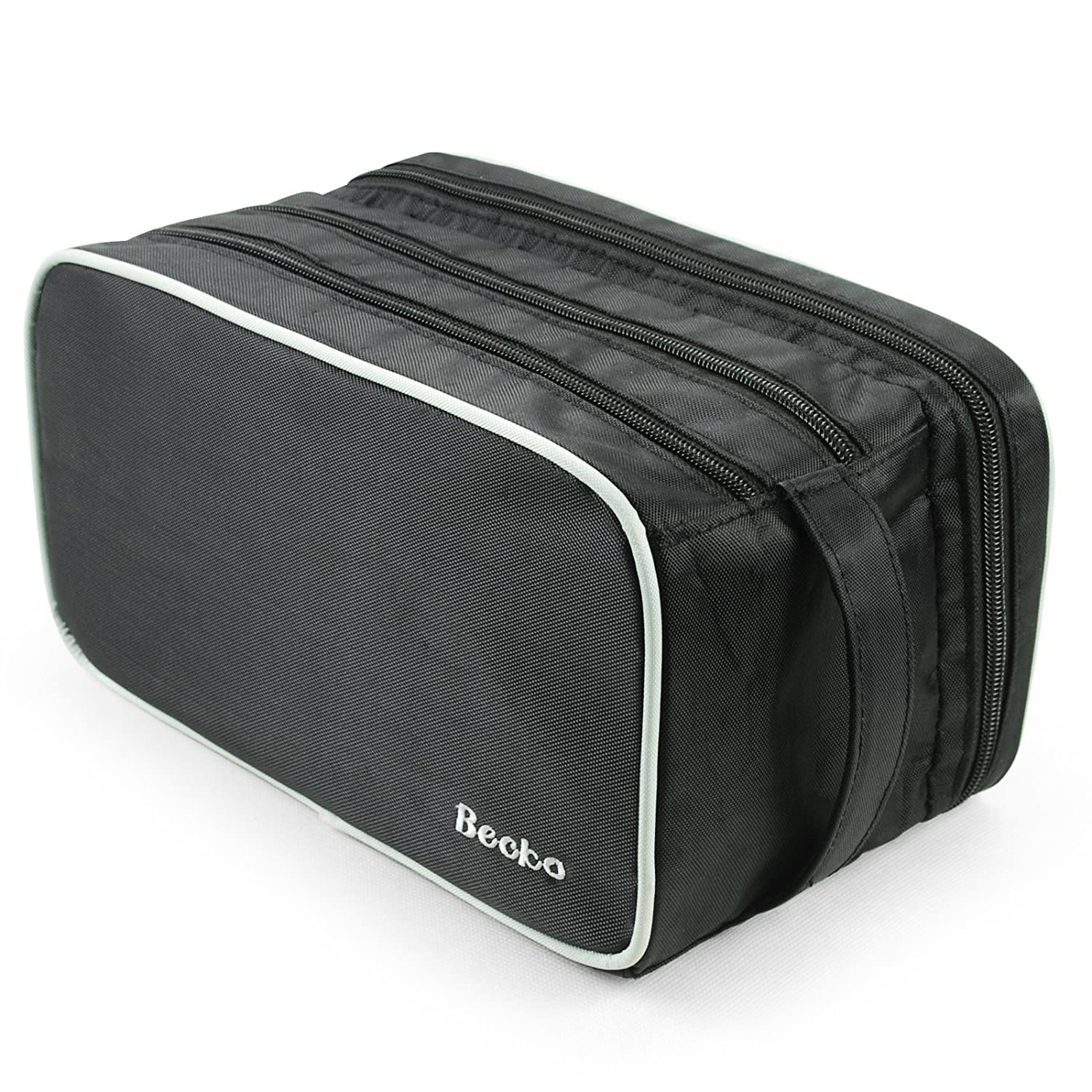 Becko Travel Toiletry Dopp Kit Travel Shaving Grooming Bag with Carry Handle for Men and Women