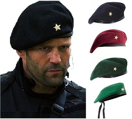 41ec506b90f42 Unisex French Woolen Beret Cap
