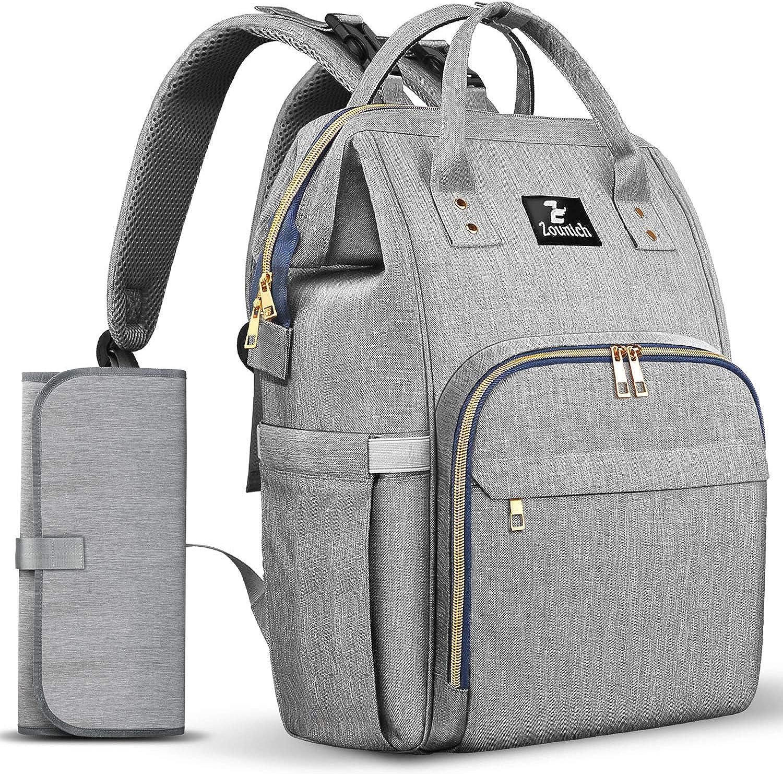 Baby Changing bag Nappy bag Convertible Backpack Backpack Diaper bag Black Diaper bag Stroller bag Changing bag Black Diaper Bag