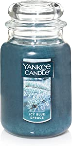 Yankee Candle Jar Scented Candle, Large, Icy Blue
