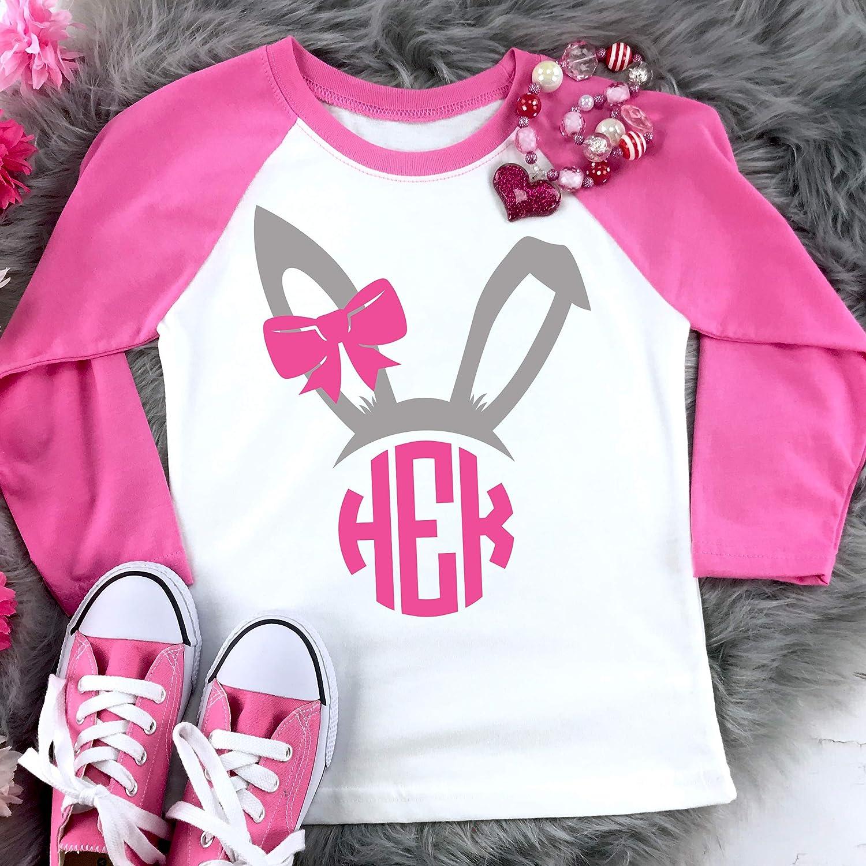 Girls Easter Girl Easter Bunny Girl Name Shirt Girls Easter Shirt Girl Shirt Personalized Easter Shirt Easter Bunny Shirt
