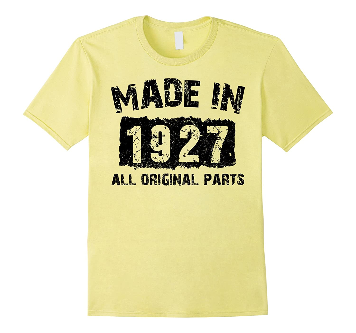 90th Birthday 90 Years Old 1927 T Shirt PL