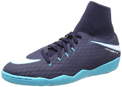321a580029f Nike Men s Hypervenom Phelon III Dynamic Fit IC Indoor Soccer Shoes (Sz. 8)