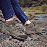 HIFEOS Hiking Boots Leather Trekking Shoes Outdoor