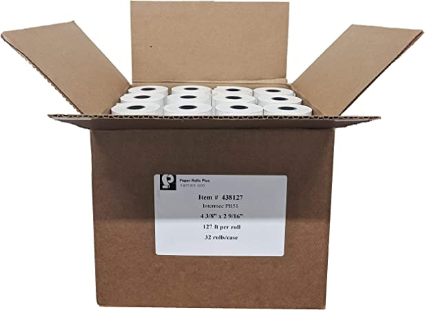 "6 rolls 4-3//8/"" x 328/' Thermal POS Register Reciept Paper"