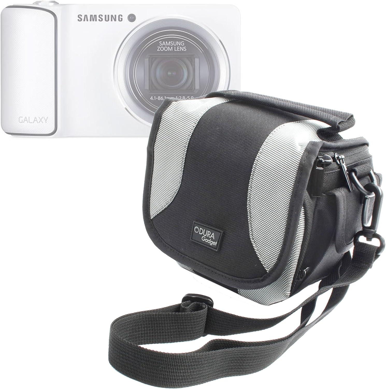 DURAGADGET Bolso para Cámaras Sirve con Modelos De Samsung Incluyendo El Samsung Galaxy Cámara (3G + WiFi), Smart Cámara NX1000, NX210 & NX20: Amazon.es: Electrónica