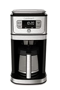 Cuisinart DGB-800 Burr Grind & Brew Coffeemaker 12 Cup Stainless Steel
