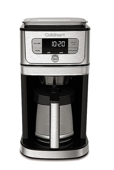 Cuisinart DGB-800 Burr Grind & Brew Coffeemaker 12 Cup Stainless Steel