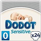Dodot Sensitive - Pañales para recién nacido, talla 0 (hasta 3 kg), 1 pack de 24 pañales