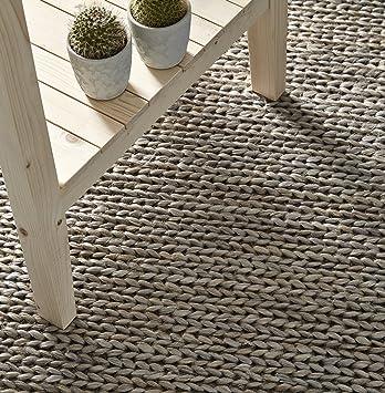 Creative Carpets Tapis Jute Gris Clair 120 X 180 Amazon Fr