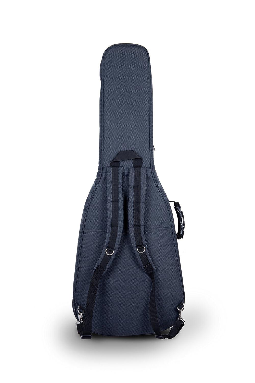 Crossrock CRDG105BBK Case Deluxe Bass Guitar Gig Bag Black