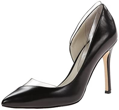 BCBGeneration Women's BG-Tricky Dress Pump, Black/Smoke, ...