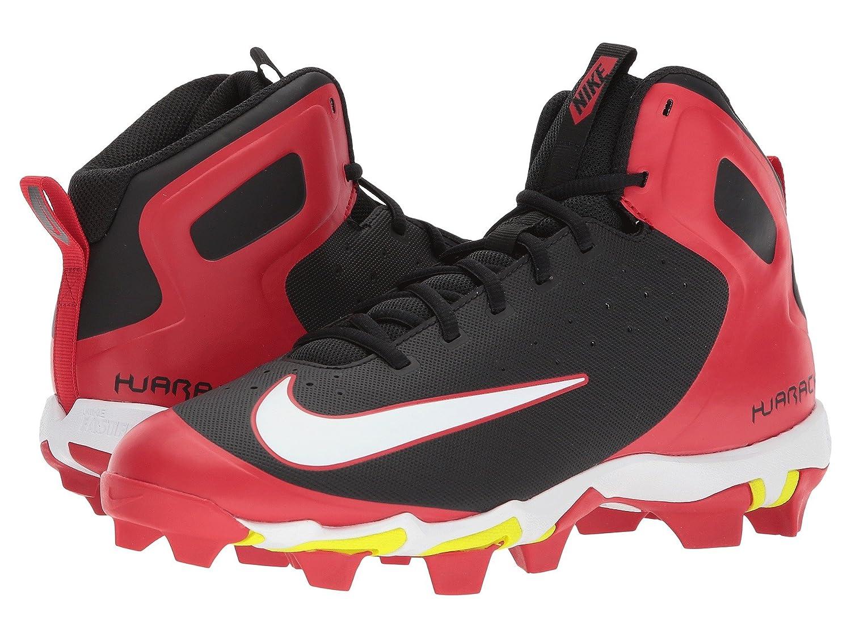 (ナイキ) NIKE メンズ野球ベースボールシューズ靴 Alpha Huarache Keystone Mid University Red/White/Black 12 (30cm) D Medium B07BQVD2SS