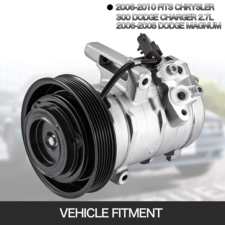 Magnum Front Drill Slot Brake Rotors+Ceramic Pads Fit 2006-2008 Dodge Charger
