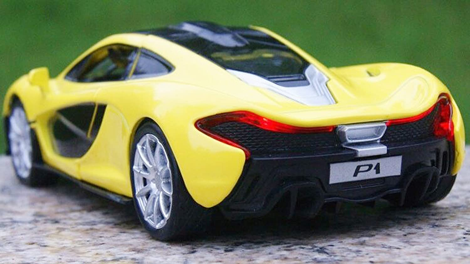 Amazon.com: NuoYa001 New 1:32 McLaren P1 Alloy Diecast Car Model Collection  With Light U0026 Sound Yellow By NuoYa: Toys U0026 Games