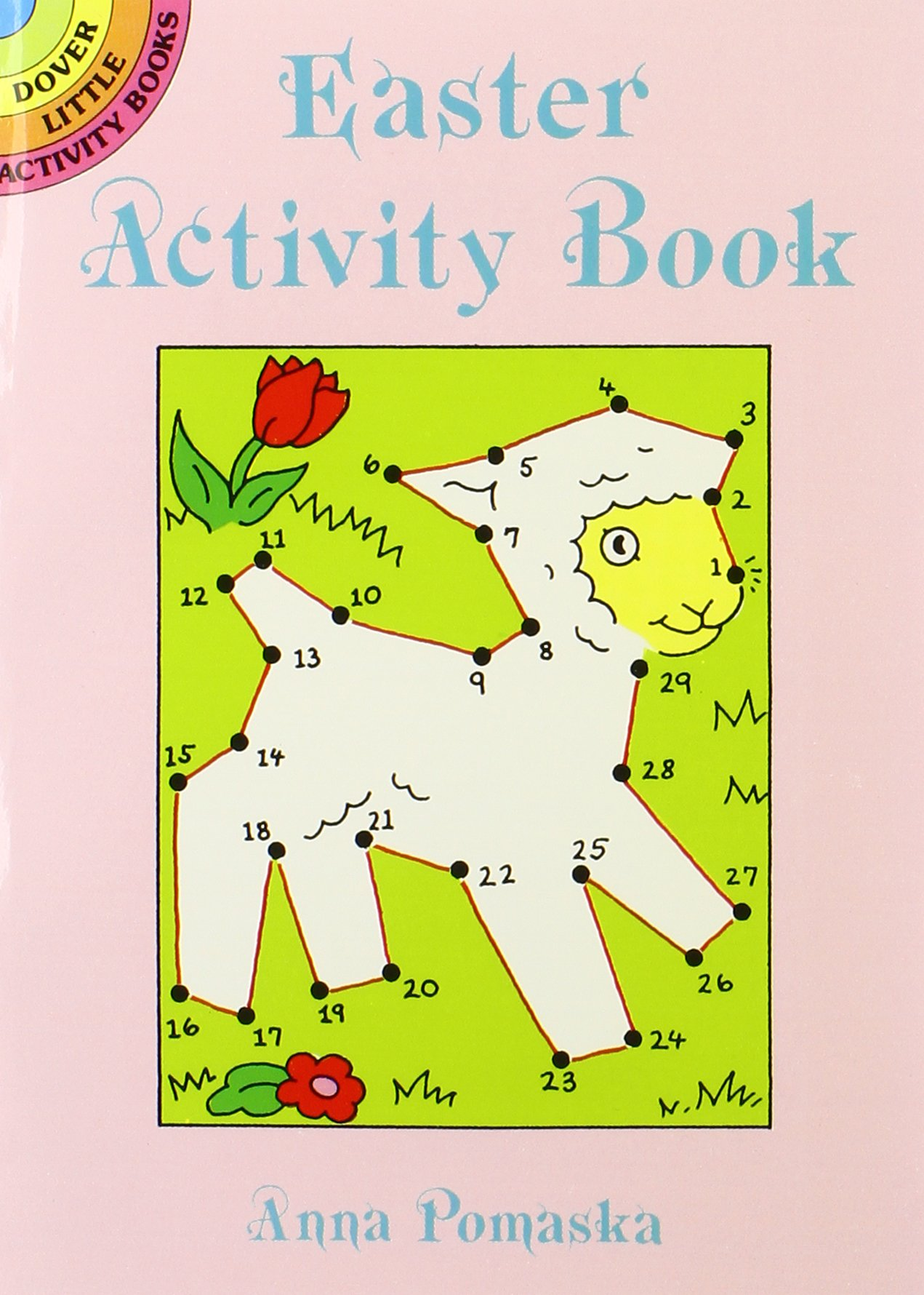 10 Easter Fun Books: Stickers, Stencils, Tattoos and More (Dover Little Activity Books) by Dover Publications (Image #3)