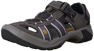 Teva Men's Omnium Closed Toe Sandal,Ombre Blue,8 ...
