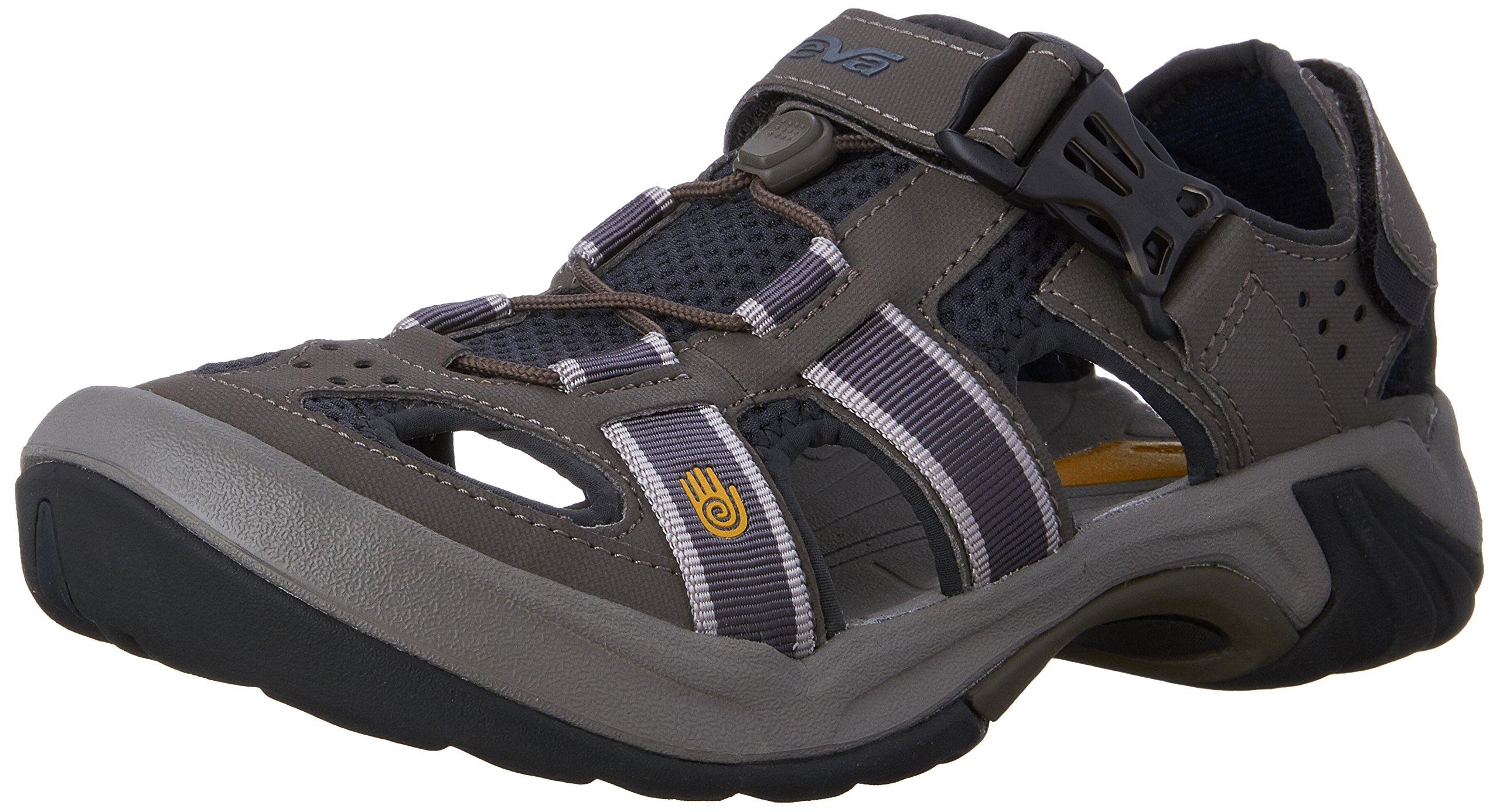 Teva Men S Omnium Closed Toe Sandal Ombre Blue 7 M Us Amazon