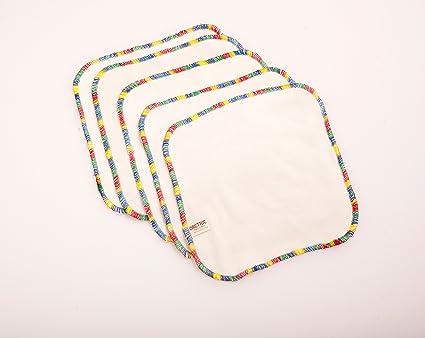Toallitas Lavables 20 x 20 pack de 5 uds