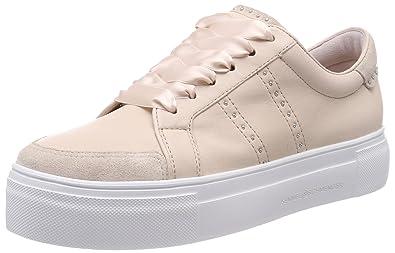 Kennel und Schmenger Damen Big Sneaker, Schwarz (Schwarz Sohle Weiß), 35.5 EU