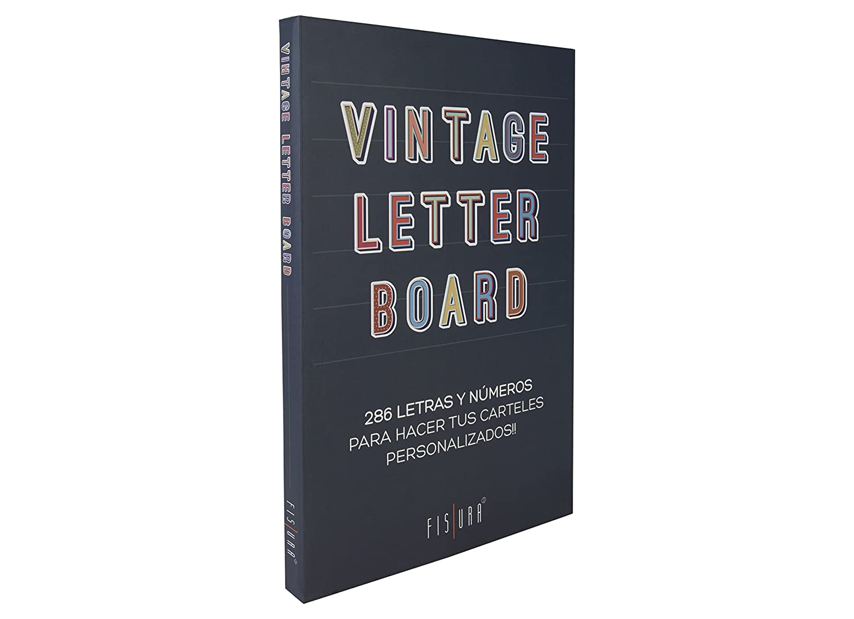 Fisura DC0631 Vintage Letter Board 45x30cm Tablero Fieltro ...