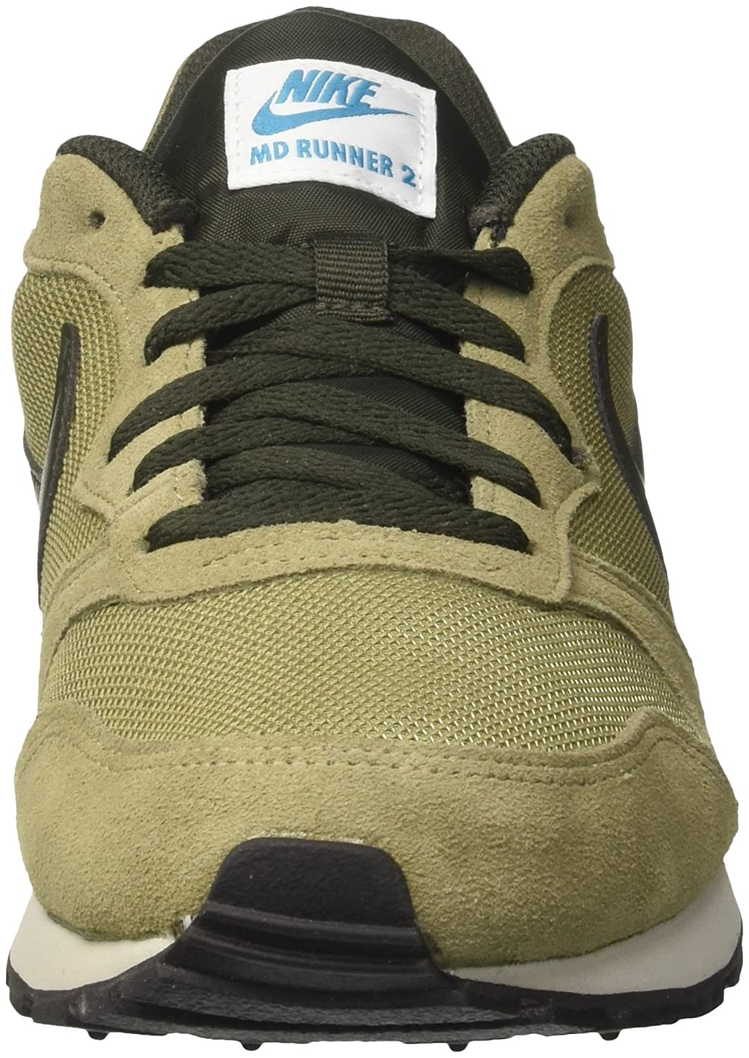 various colors 45899 7eb6a Nike MD Runner 2, Chaussures de Running Homme, Vert (Neutral  Olive Seqouia-Lt Blue Fury 201), 40.5 EU  Amazon.fr  Chaussures et Sacs