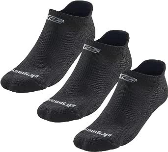 Drymax R-Gear No Show Running Socks for Men & Women (3-pairs)