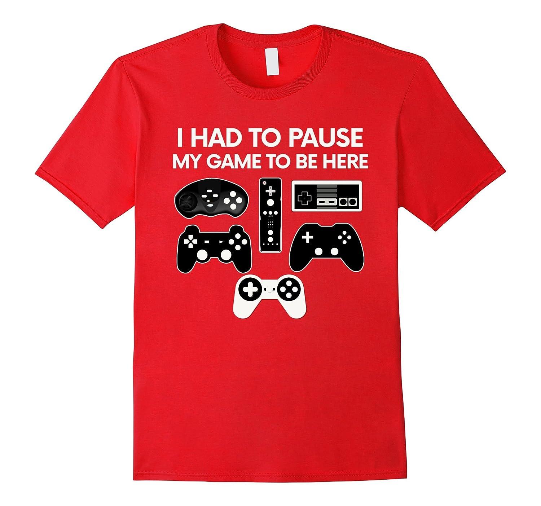 Funny Video Game T-Shirt Christmas Gift Party Gamer Shirt-ah my shirt one gift