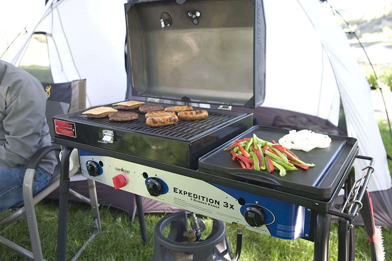 Camp Chef Expedition 3X 3 Burner Stove