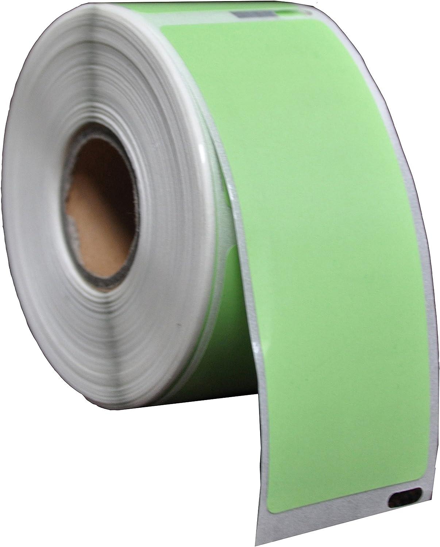 Dymo 99012 Jaune Etiquettes Compatibles 36mm x 89mm Yellow Pack de 10