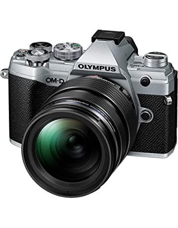 Olympus OM-D E-M5 Mark III Micro Four Thirds System Camera Kit, 20 MP sensor, 5-axis image stabilizer, powerful autofocus, 4K video, Wi-Fi, silver incl. 12-40mm M.Zuiko PRO lens