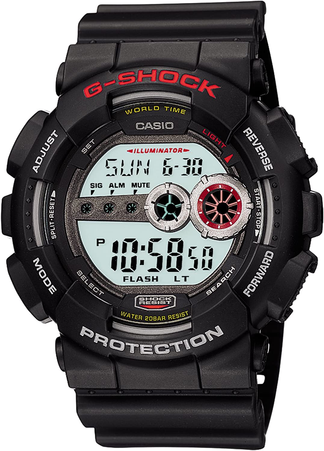 CASIO G-Shock Watch GD-100-1AJF Japan Import