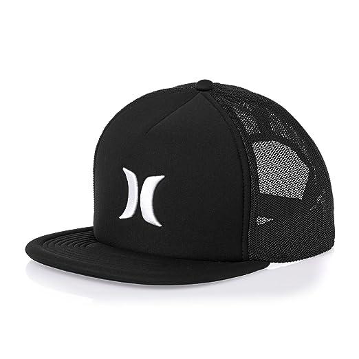 Amazon.com  Hurley Blocked 3.0 Trucker Cap One Size Black  Clothing 6c633d3465c9