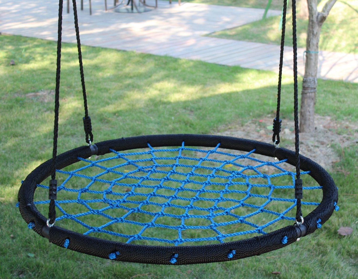 637a3a133ea1 Blau Movement God Spider Web Tree Swing with Adjustable Hanging ...