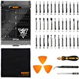 Jakemy 43 in 1 Screwdriver Set Precision Repair Tool Kit with 36 Magnetic Driver Bits Screwdriver Kit for iphone X/8/7 Plus Cell Phone Macbook Laptop PC
