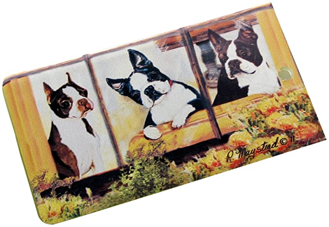 f1c7ffda023f Boston Terrier Luggage Bag Tag at Amazon Women's Clothing store: