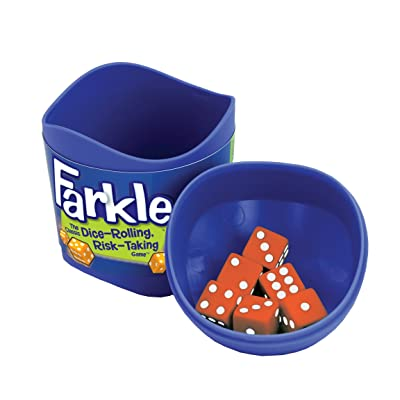 Farkle Dice Cup: Toys & Games
