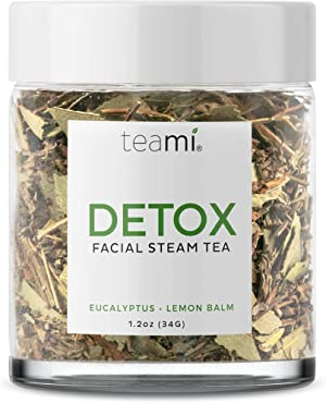 Teami Facial Steam Loose Tea - For Use with Facial Steamer to Open Up Pores, Remove Blackheads, and Rejuvenate Your Skin