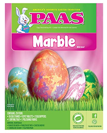 Amazon Paas Fun Expressions Easter Dye Decorating Kit Marble