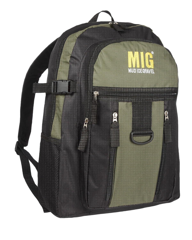 76ceebf4ee6 MIG Mens Large Backpack Rucksack Bag - SPORT CAMPING TRAVEL WORK SCHOOL  HIKING