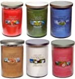 My Planet Yankee Candle World Journeys Lot de 6 bougies en pot à double mèche Grande taille