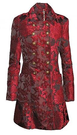 Vive Maria Abrigo Amadeus Abrigo Mujer Rojo M: Amazon.es: Ropa y accesorios