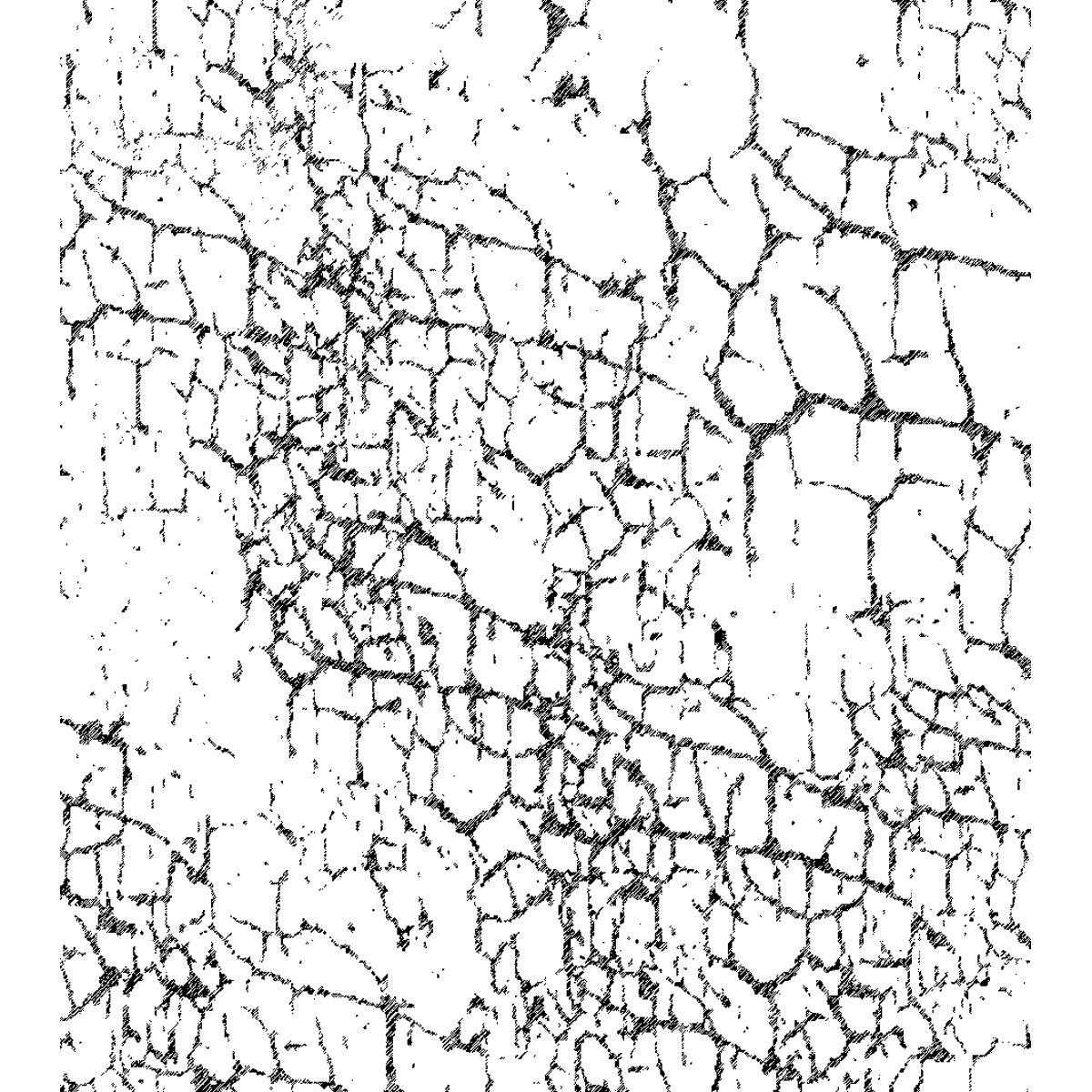 Crafty Individuals Unmounted Rubber Stamp 4.75\'X7\' Pkg-Crackle Background