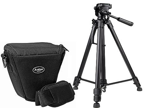Cámara de Fotos Set Action Colt Bolsa con trípode Incluye Funda para Sony Alpha 6500 6300 6000 5100 5000