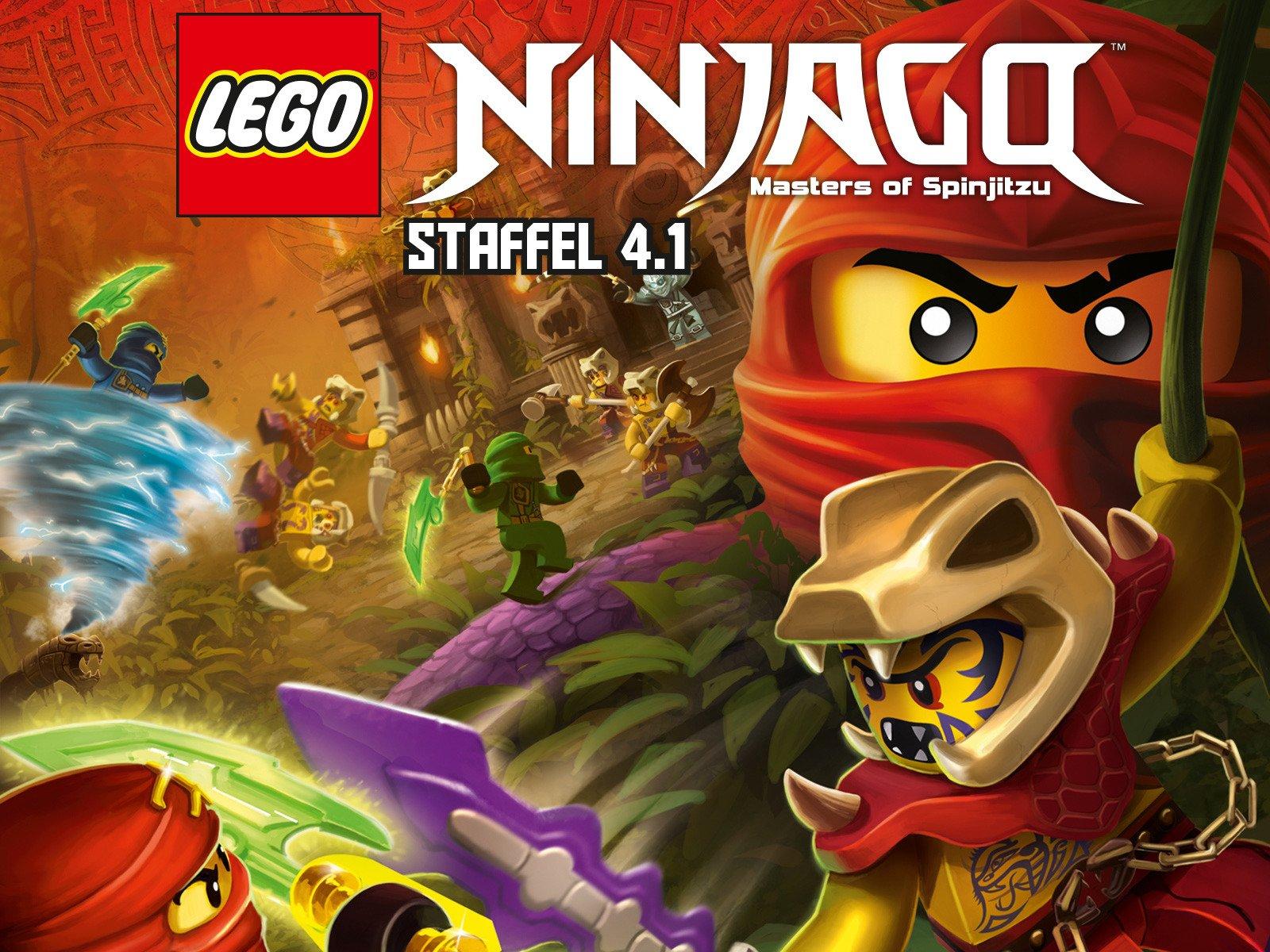 Amazonde Lego Ninjago Meister Des Spinjitzu Staffel 41