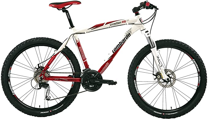 Lombardo LOM066 - Bicicleta de montaña para Hombre, Talla L (173 ...